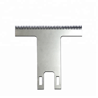 T Type Serrated Packaging Blade