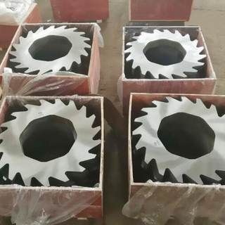 Double Shaft Metal Shredder Blade